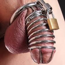 chastity cage for all you short dick men out there.