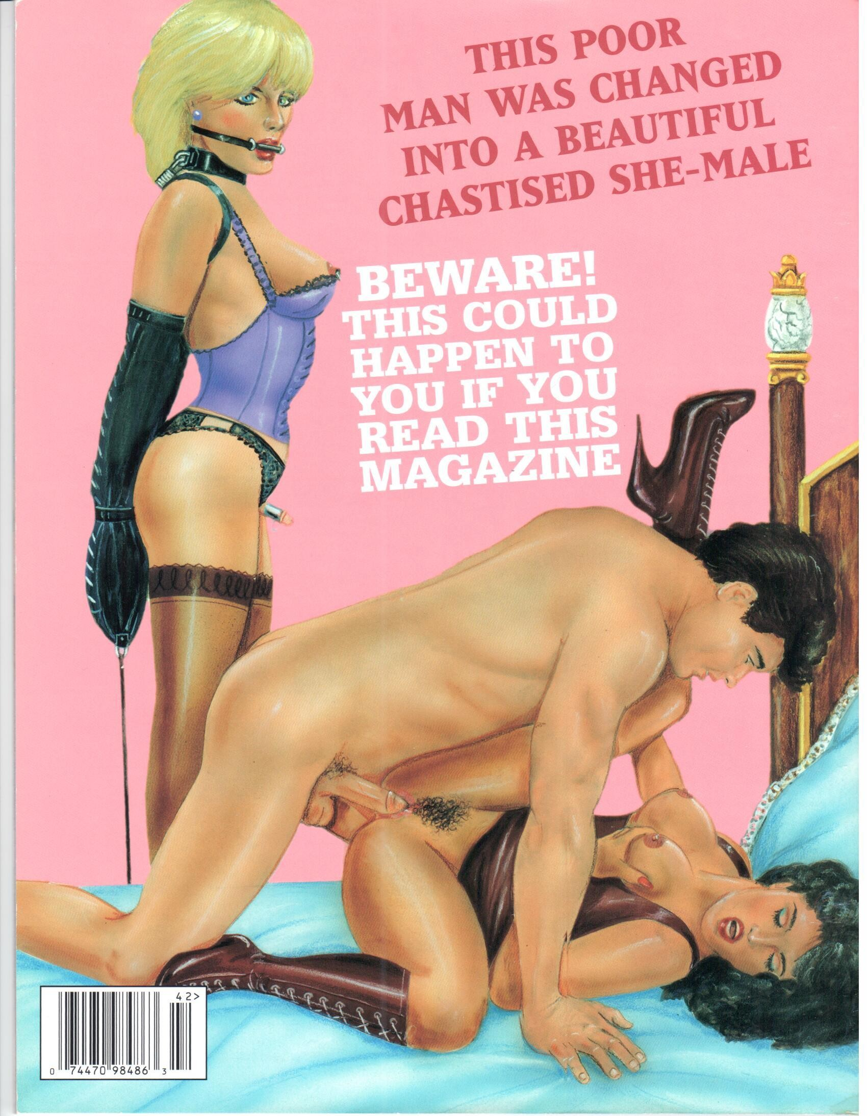Femdom Wife Slave Strapon Anal Sissy