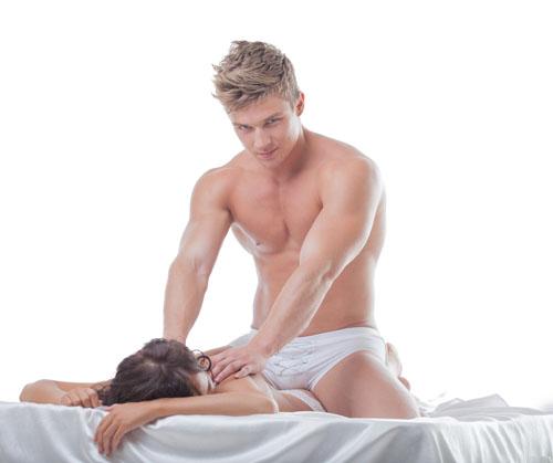 секс негр делает массаж