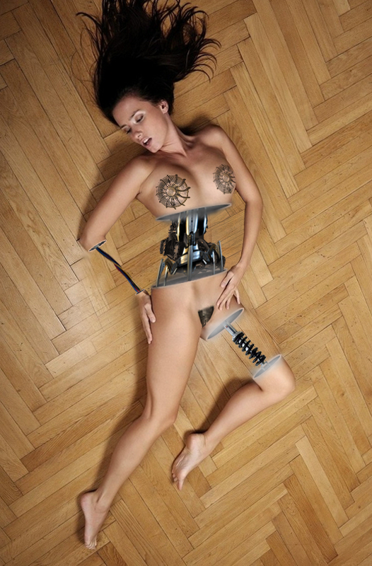 Fucking a sex robot