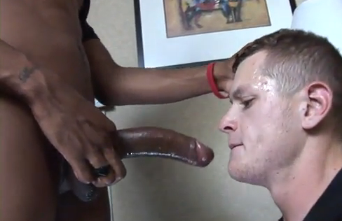 Cock White black sucking men big