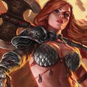 Fantasy Redhead Warrior