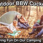 Outdoor BBW Cuckold