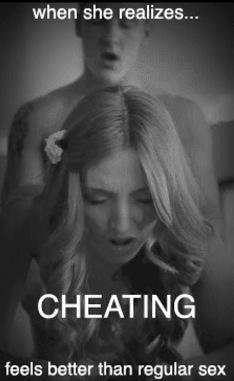 Cheating Sex Feels Better
