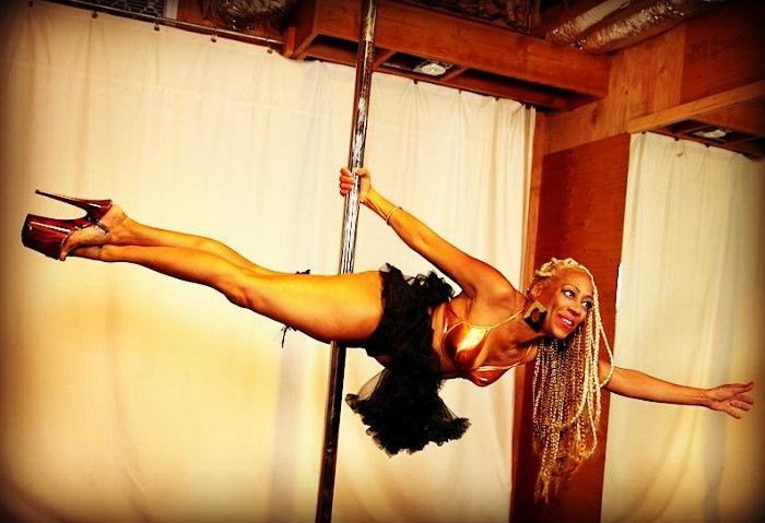 Stripper Pole GILF