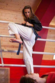 karate foot job
