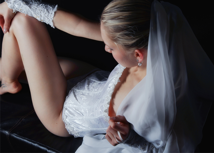 hot cheating bride