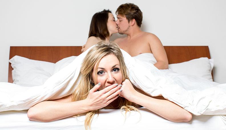 nighttime threesome fun