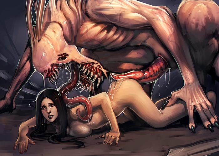 Alien Sex Domination Fear