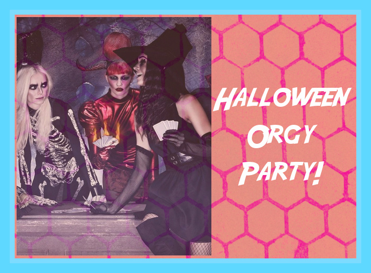Halloween Orgy Party